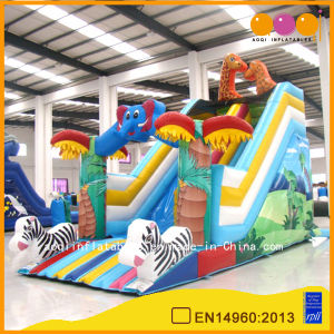 Animal World Standard Slide Folding Slide for Child (AQ09183) pictures & photos