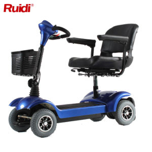 Compact 3 Wheel Disabled Scooter Electric Scooter Foldable Mobility Scooter pictures & photos