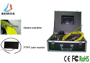 6mm Camera Size Sewer Inspection Camera with Fire Protection of Box Material pictures & photos