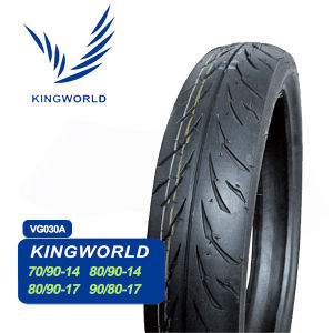 3.00-17 90/80-17 120/80-17 Tubeless Motorcycle Tire pictures & photos