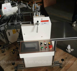 Through and Kiss Cutting, PLC and Touch Screen Controlling, Roll to Sheet Cutting Machine pictures & photos