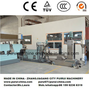Side Force Feeder PP PE Flakes Pelletizing Machine pictures & photos