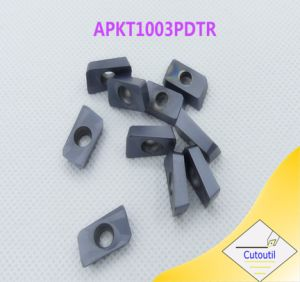 Cutoutil Apkt   for Steel Alternative of Mitsubishi Carbide Insert CNC Machining Part pictures & photos