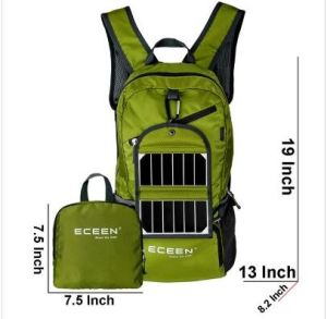 OEM Design Outdoor Lightweight Solar Powered Backpack (SB-158) pictures & photos