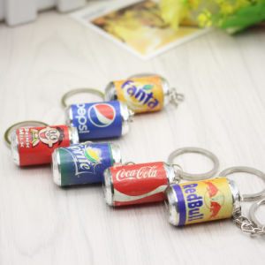 Promotional Gift Cartoon Resin Key Ring pictures & photos