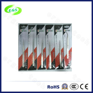 Industrial Stainless Steel White ESD (Anti-static) Tweezers Series (SP-10) pictures & photos
