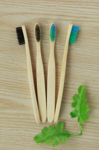 Bamboo Oralcare /Dental Toothbrush pictures & photos