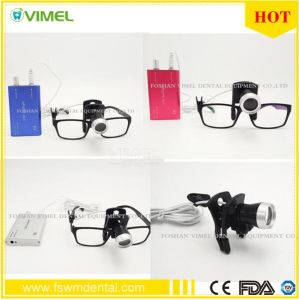 Oral Dental LED Medical Surgical Loupe Magnifying Glass Headlight pictures & photos