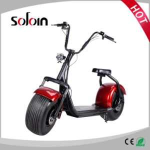 1000W 60V Lithium Battery Brushless Motor E-Scooter (SZE1000S-3) pictures & photos