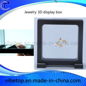 3D Suspension Plastic Jewelry Display Box with Custom Printing Logo pictures & photos