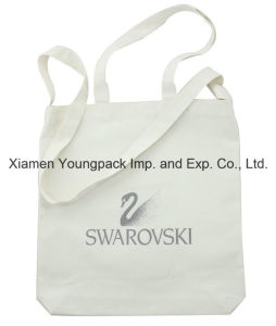Promotional Custom Printed Resuable Cotton Double Handles Sling Bag pictures & photos