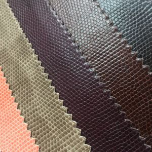 Synthetic PVC Leather for Handbag Shoes Making pictures & photos