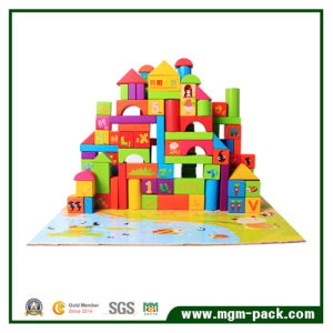 Wholesale Popular Colorful Building Block Wooden Toy pictures & photos
