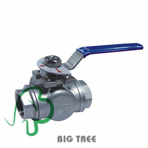 High Quality Stainless Steel 2 PC Block Ball Valve pictures & photos