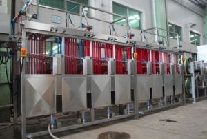 200mm Narrow Fabric Continuous Dyeing and Finishing Machine pictures & photos