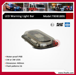 Professional LED Mini Ambulance Light Bar (TBD8180G) pictures & photos