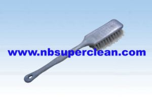 Plastic Long Handle Car Wheel Cleaning Brush, Tire Brush (CN1819) pictures & photos