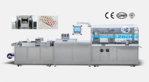 Dpb-260k Flat Plate High Speed Blister Packing Machine pictures & photos
