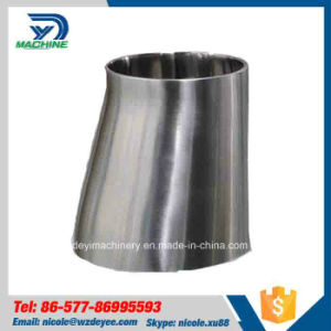 Stainless Steel Sanitary Butt-Weld with Straight Ends Eccentric Reducer (DY-R08) pictures & photos