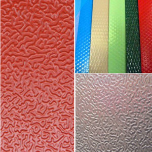 Coated Embossed Aluminum Coil Sheet pictures & photos