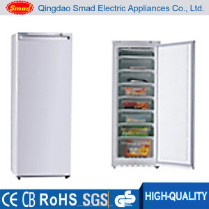 100L-310L Supermarket General Solid Door Vertical Freezer with Drawers pictures & photos