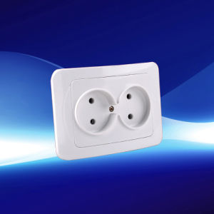 2 Gang Wall Socket 10A 250V (YW2311)
