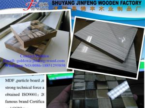 Furniture Material Carbinet MDF Coated UV pictures & photos