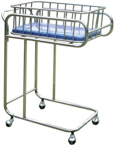 Stainless Steel Hospital Bassinet pictures & photos