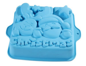 Colorful Design Silicone Christmas Cake Mold pictures & photos
