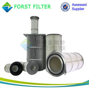 Forst High Efficient Spunbonded Polyester Filter Cartridge pictures & photos