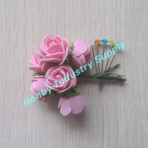 Decorative Color 38mm Clear Diamond Head Pin pictures & photos
