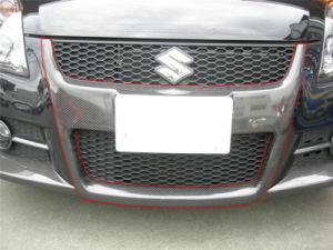 "Carbon Fiber Front Diffuser ""H"" Trim for Suzuki Swift Gti 2006-2008 pictures & photos"