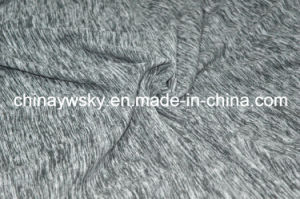 100%Polyester Cationic Effect Polar Fleece pictures & photos