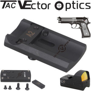 Vector Optics Full Metal Tactical Pistol Red DOT Scope Mount Base for Beretta 92 Gun Accessries pictures & photos
