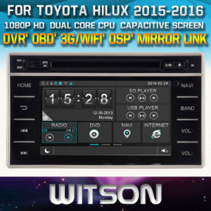 Witson Windows for Toyota Hilux 2015 Revo 2015 Radio Navigitaon pictures & photos