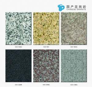 Chinese Rosa Porrino Granite Tile for Flooring pictures & photos