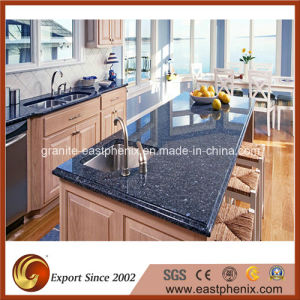 Natural Polished Beautiful Granite Blue Kitchen Worktops/Countertop pictures & photos