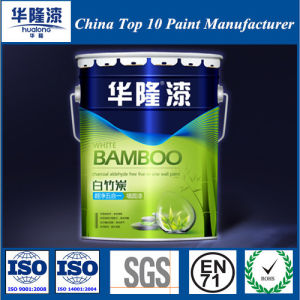 Hualong White Bamboo Charcoal 5 in 1 Interior Wall Paint pictures & photos