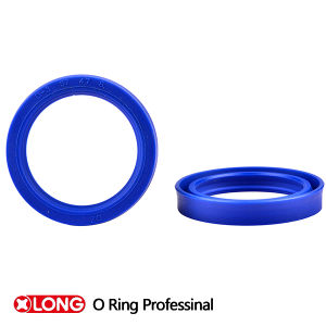 Blue PU Rubber Seal for Hydraulic Sealing pictures & photos