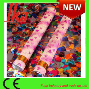 Made in China Heart Confetti Party Popper