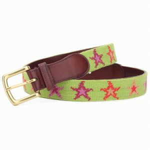 Woman Fashion Wool Needlepoint Belt (SR-131246B) pictures & photos