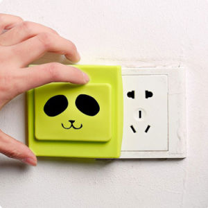 Hot Selling Waterproof Protective Electric Shock Silicone Switch Cover pictures & photos