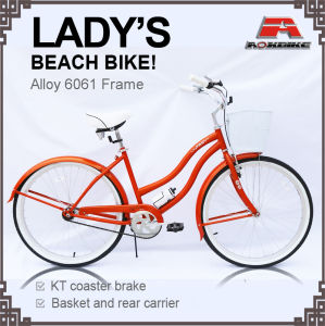 City Trip Basket Beach Cruiser Bicycle for Lady (ARS-2605S-1) pictures & photos
