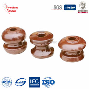 Brown Electric Ceramic Shackle Type Insulators