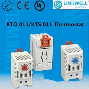 DIN Rail Mounting No Type Cooling Fan Thermostat for Cabinet pictures & photos