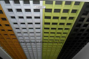 Suspended Aluminum Open Cell Decorative Ceiling