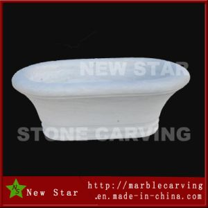 Simple Design White Bathtub pictures & photos