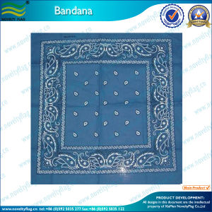 56X56 Cm Cotton Bandana with Very Cheap Price (T-NF20F19015) pictures & photos