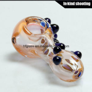 Colorful Pocket Smoking Pipes Hand Spoon Pipe in Stock for Wholesales Factory Directly pictures & photos