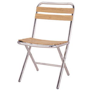 Aluminum/Alloy Wood Slats Chair, Patio Coffee Chair (DC-06310) pictures & photos